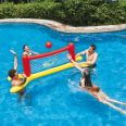 Juego piscina. Volleyball. Set inflable